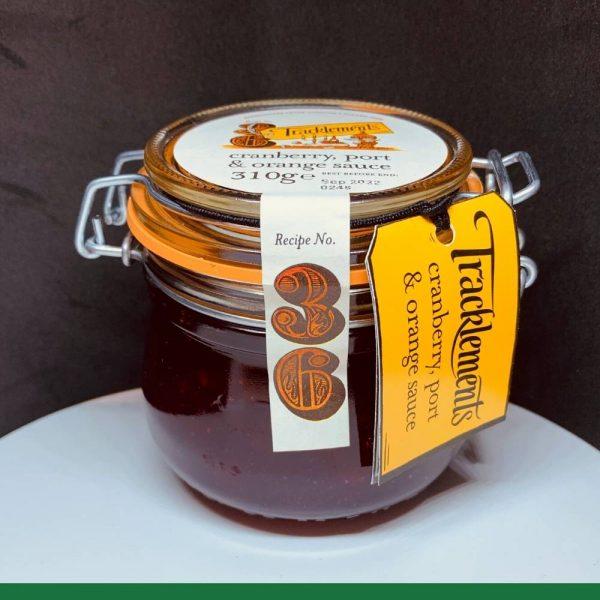 T Cranberry Sauce