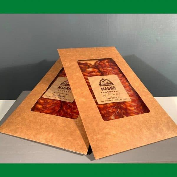 Chorizo sliced