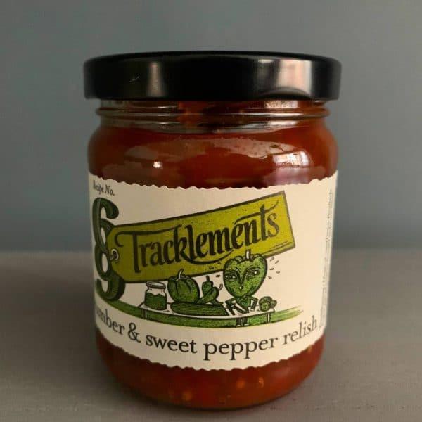 T Cucumber Pepper relish 1