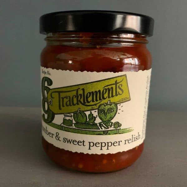 T Cucumber Pepper relish 2