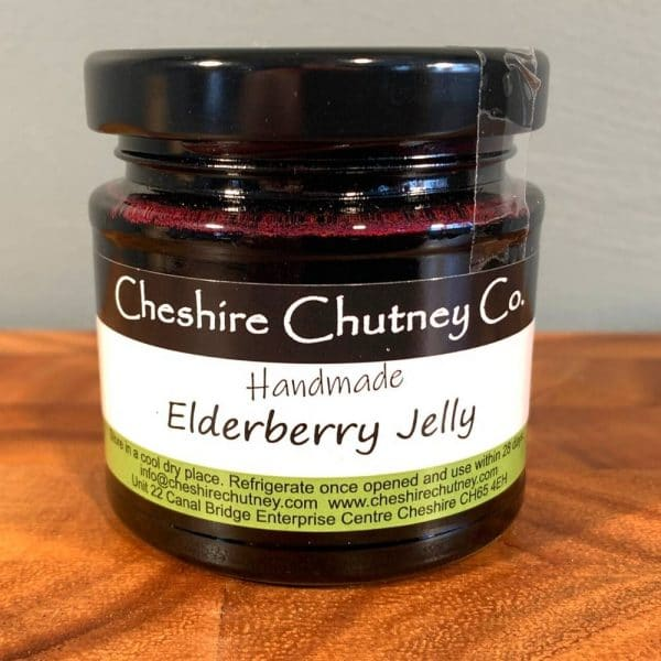 CCC Elderberry jelly 1