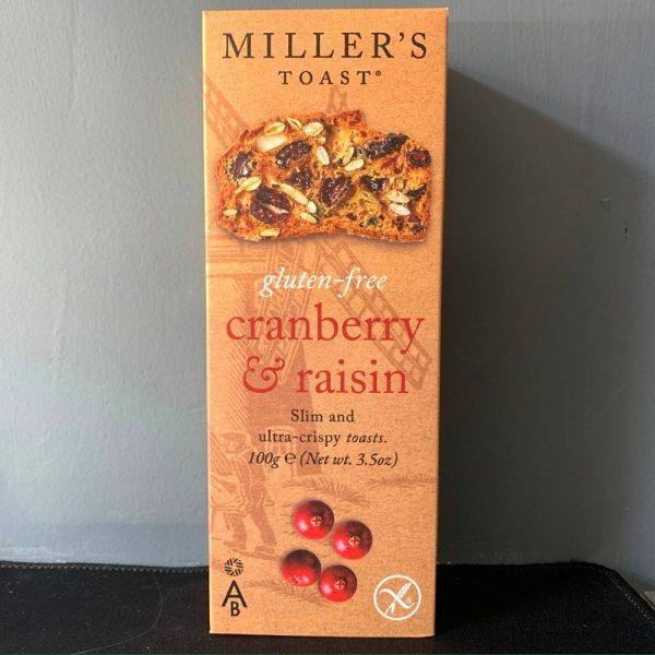 Miller Cranberry Gluten 1
