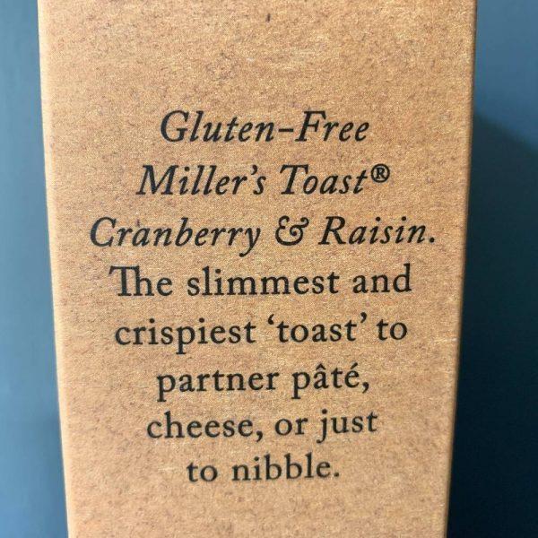 Miller Cranberry Gluten 2