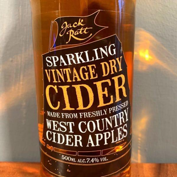 Jack Ratt Dry Cider 2